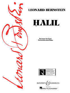 Bernstein, L. - Halil: Nocturne for Flute, Percussion and Piano - FLUTISTRY BOSTON