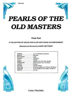 Pearls of the Old Masters, Vol. I - Flute part - FLUTISTRY BOSTON