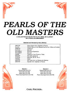 Pearls of the Old Masters, Vol. II - Flute part