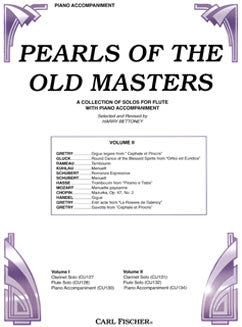 Pearls of the Old Masters, Vol. II - Piano Accompaniment