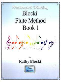 Blocki, K. - Blocki Flute Method Book 1 - FLUTISTRY BOSTON