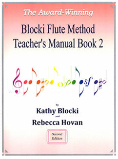 Blocki, K. - Flute Method Teacher's Manual Book 2 - FLUTISTRY BOSTON