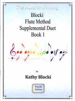 Blocki, K. - Flute Method Supplemental Duet Book 1 - FLUTISTRY BOSTON