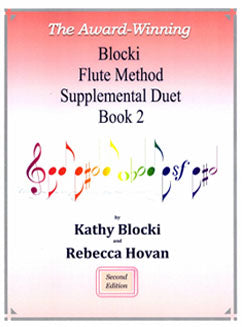 Blocki, K. - Flute Method Supplemental Duet Book 2 - FLUTISTRY BOSTON