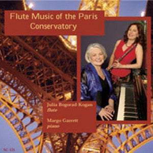 Flute Music of the Paris Conservatory CD (Julia Bogorad-Kogan)