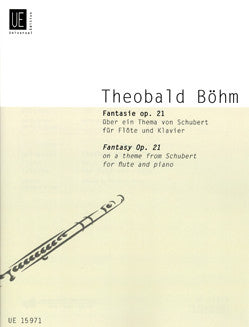Boehm, T. - Fantasy on a Theme from Schubert, Op 21