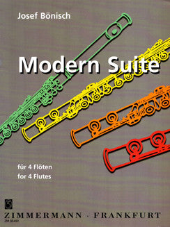 Bonisch, J. - Modern Suite for 4 Flutes
