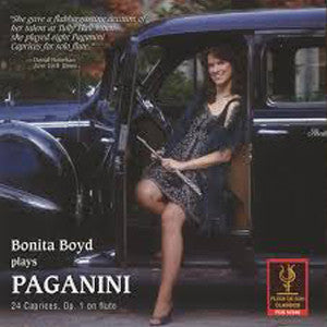 Bonita Boyd plays Paganini; 24 Caprices, Op. 1 CD (Bonita Boyd) - FLUTISTRY BOSTON