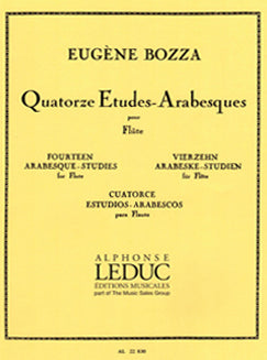 Bozza, E. - Quatorze Etudes-Arabesques - FLUTISTRY BOSTON