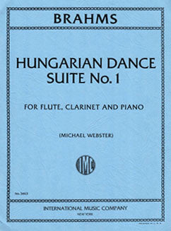 Brahms, J. - Hungarian Dance Suite No. 1