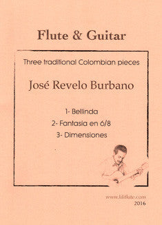 Burbano, J. - Three Traditional Colombian Pieces - FLUTISTRY BOSTON