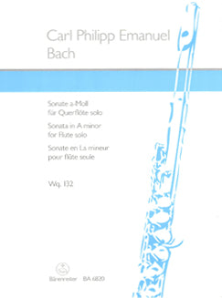 Bach, C.P.E. - Sonata in A Minor for Solo Flute - FLUTISTRY BOSTON