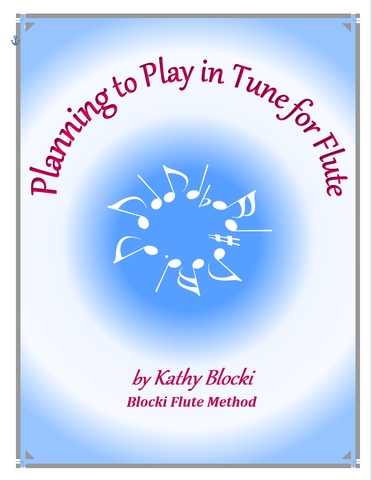 Blocki, K. - Planning to Play in Tune for Flute