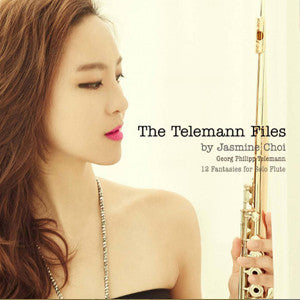 The Telemann Files CD (Jasmine Choi)