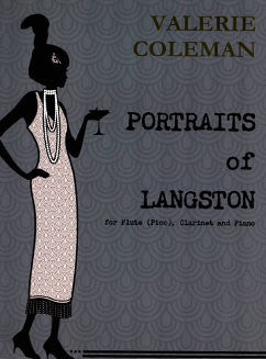 Coleman, V. - Portraits of Langston - FLUTISTRY BOSTON