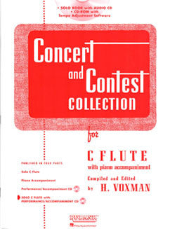 Concert & Contest Collection - Solo Flute w/ CD - FLUTISTRY BOSTON