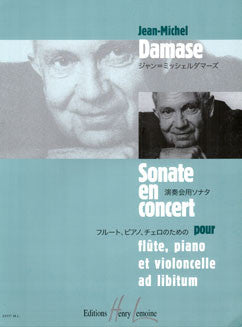 Damase, J. - Sonate en Concert - FLUTISTRY BOSTON