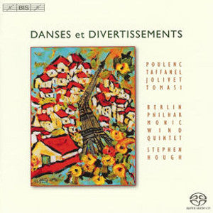 Danses et Divertissements CD (Berlin Philharmonic Wind Quintet) - FLUTISTRY BOSTON