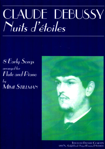 Debussy, C. - Nuits D'étoiles: 8 Early Songs - FLUTISTRY BOSTON