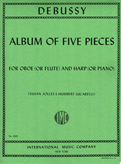 Debussy, C. - Album of Five Pieces - FLUTISTRY BOSTON