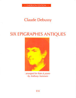 Debussy, C. - Six Epigraphes Antiques - FLUTISTRY BOSTON