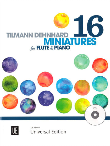 Dehnhard, T. - 16 Miniatures for Flute & Piano