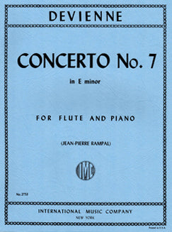 Devienne, F. - Concerto No. 7 in E Minor - FLUTISTRY BOSTON
