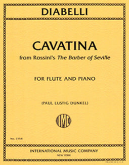 "Cavatina from Rossini's ""The Barber of Seville"" by Anton Diabelli - FLUTISTRY BOSTON"