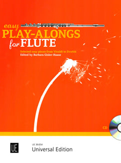 Gisler-Haase, B. - Easy Play-Alongs for Flute - FLUTISTRY BOSTON