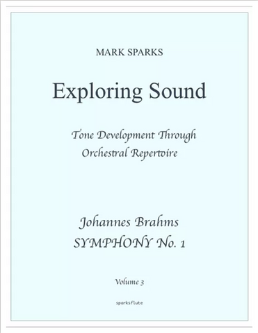 Sparks, M. - Exploring Sound: Vol. 3 Brahms 'Symphony No. 1'