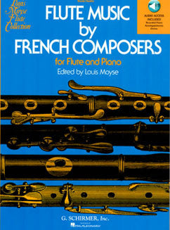 Flute Music by French Composers with Audio
