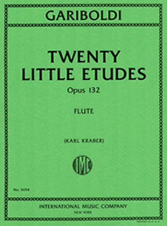 Gariboldi, G. - Twenty Little Etudes
