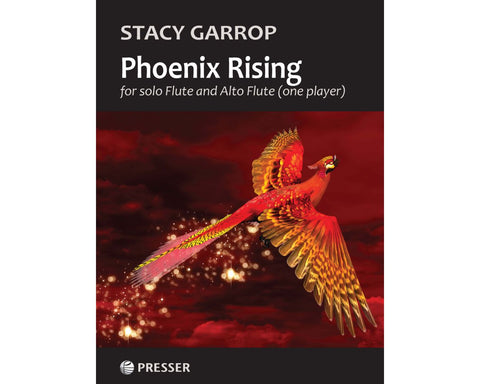Garrop, S. - Phoenix Rising for solo Flute and Alto Flute (one player)