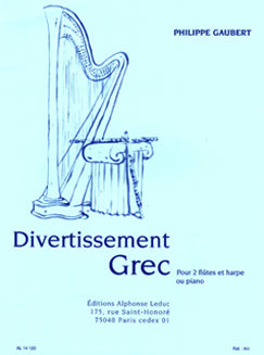 Gaubert, P. - Divertissement Grec