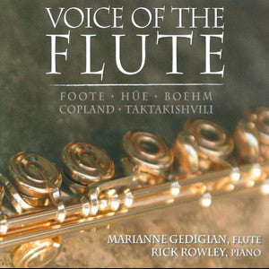 Voice Of The Flute CD (Marianne Gedigian) - FLUTISTRY BOSTON