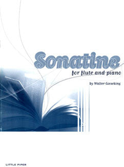 Gieseking, W. - Sonatine - FLUTISTRY BOSTON