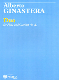 Ginastera, A.- Duo - FLUTISTRY BOSTON