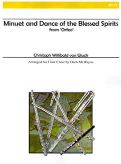 "Gluck, C. - Minuet and Dance of the Blessed Spirits from ""Orfeo"" - FLUTISTRY BOSTON"