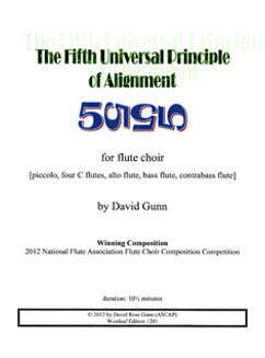 Gunn, D. - The Fifth Universal Principle of Alignment - FLUTISTRY BOSTON