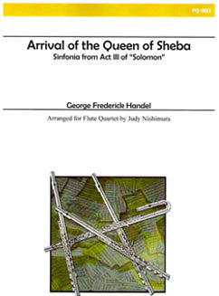 Handel, G. - Arrival of the Queen of Sheba - FLUTISTRY BOSTON