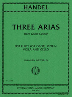 Handel, G. - Three Arias - FLUTISTRY BOSTON
