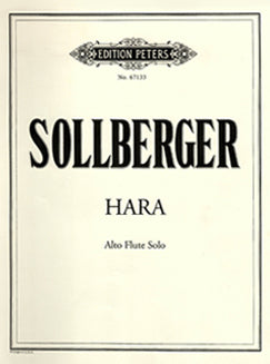 Sollberger, H. - Hara - FLUTISTRY BOSTON