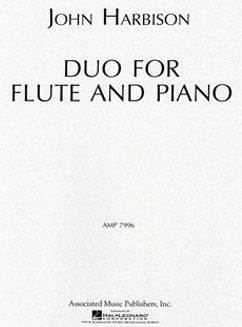 Harbison, J. - Duo For Flute And Piano
