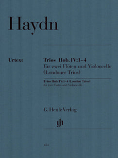 Haydn, J. - London Trios HOB. IV 1-4