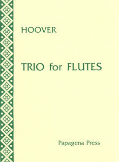 Hoover, K. - Trio for Flutes