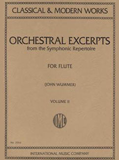 Orchestral Excerpts from the Symphonic Repertoire - Vol 2 - FLUTISTRY BOSTON