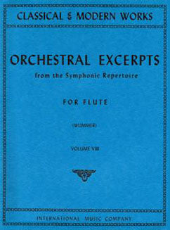 Orchestral Excerpts from the Symphonic Repertoire - Vol 8 - FLUTISTRY BOSTON