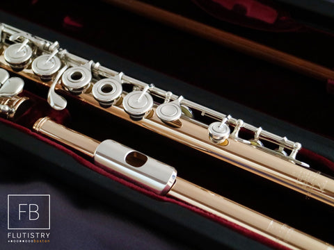 Powell Flute - 14k Gold/Silver - #10024