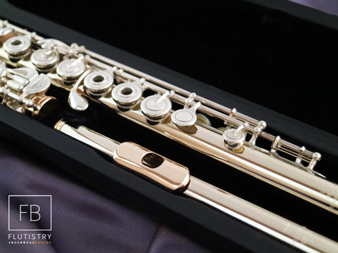 Powell Flute - 14k White Gold/Silver - #15096