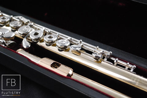 Powell Flute - 14k White Gold - #12670 - FLUTISTRY BOSTON